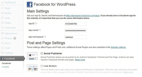 Facebook Launches New Plugin for WordPress & Simplifies Social Publishing | SEO Tips, Advice, Help | Scoop.it