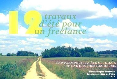 "Ebook ""12 travaux d'été pour un freelance"" - Blog du freelance 