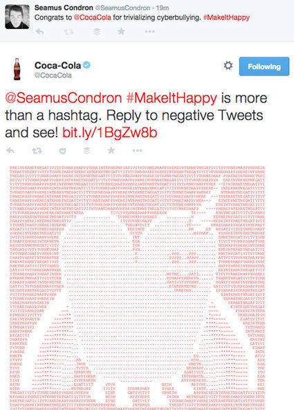 Coke Trivialized the Most Serious Issue of the Digital Age - PC Magazine | ASCII Art | Scoop.it