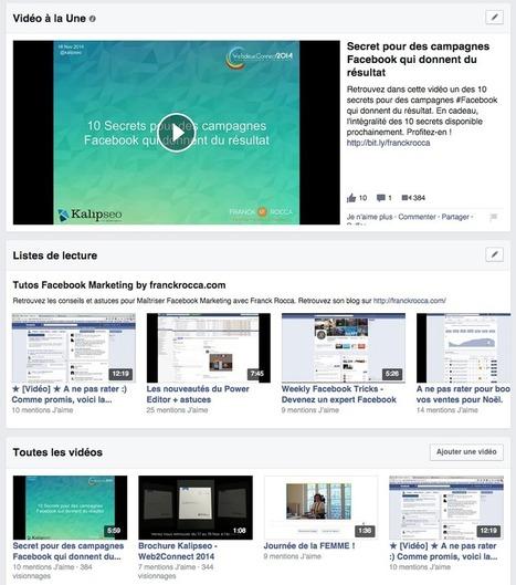 La vidéo native Facebook, un atout Marketing puissant ! | Entrepreneurs du Web | Scoop.it