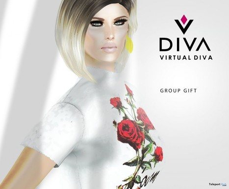 April Skin Group Gift by Virtual Diva | Teleport Hub - Second Life Freebies | Second Life Freebies | Scoop.it