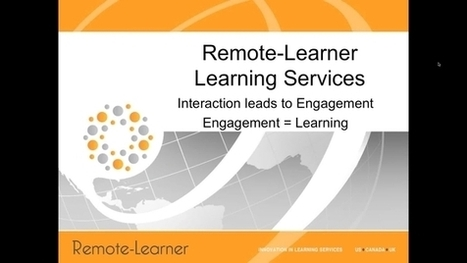 Remote-Learner Webinar- Strategies for Using Moodle to Increase Learner Engagement | Aprendiendo a Distancia | Scoop.it