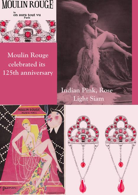 "125 aniversary MOULIN ROUGE Limited Edition Accessories by ON AURA TOUT VU | Official Magazine of French House ""On Aura Tout Vu"" 
