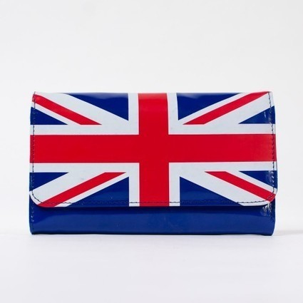 Portefeuille drapeau anglais vernis pour femme et homme   Accessoires de mode femme   Scoop.it