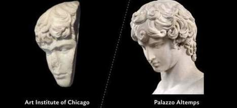 Antinoo, el amante del emperador Adriano, recupera en Roma su rostro… que estaba en Chicago. | LVDVS CHIRONIS 3.0 | Scoop.it