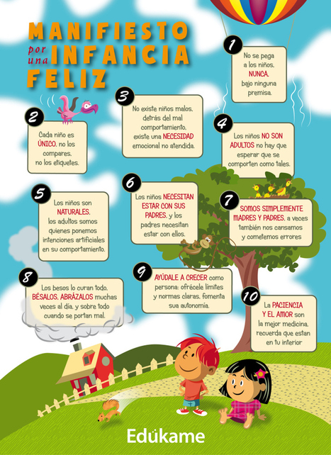 Manifiesto por una infancia feliz :) | Educación | Scoop.it