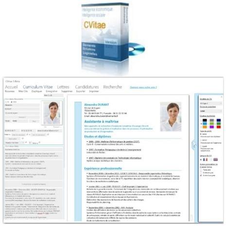 Logiciel professionnel gratuit CVitae V5 Fr 2014 pour Windows Licence gratuite Creation CV analysables par les moteurs d'analyses - Actualités du Gratuit | je partage donc j'existe | Scoop.it