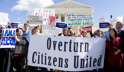 Response to Supreme Court's Refusal to Rethink 'Citizens United' | Coffee Party News | Scoop.it