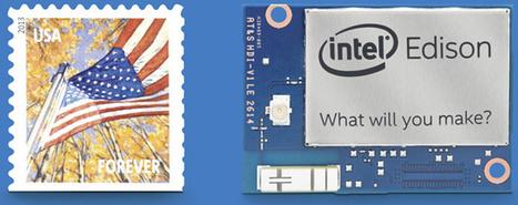 Intel start verkoop van 'postzegelcomputer' Edison | Mediawijsheid in het VO | Scoop.it