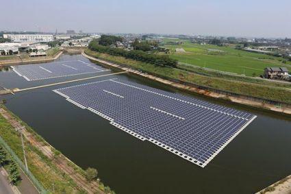 La plus grande centrale photovoltaïque flottante mondiale | 4eme | Scoop.it