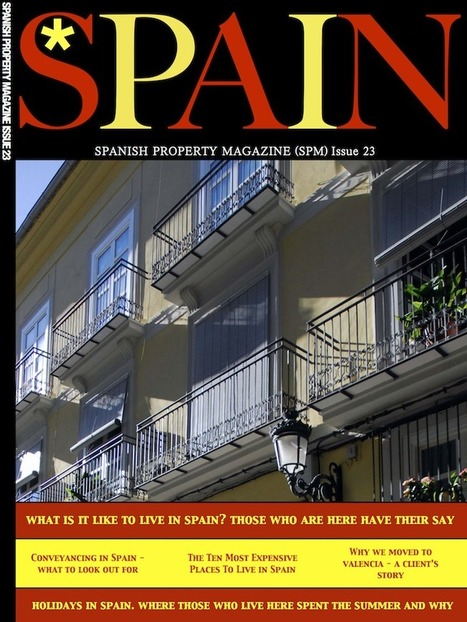 The September Issue Of The Spanish Property Magazine | Family Life In Spain | Scoop.it