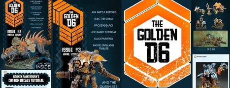 The Golden D6 Issue 4 - The Golden D6 | Tabletop Wargames | Scoop.it