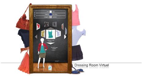 Dressing Room Virtuel Lab'innovation | Retail Intelligence | 2- Du social retailing à l'innovation des points de vente | Scoop.it