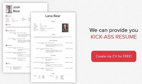 Créez votre CV avec KickResume | Outils 2.0 | Scoop.it