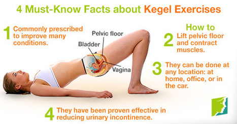 Kegel Exercises can Reduce Urinary Incontinence | Making Your Own Home Remedies | Scoop.it
