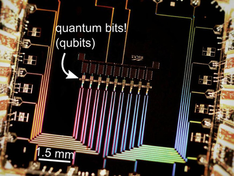 Google Tests First Error Correction in Quantum Computing | Amazing Science | Scoop.it