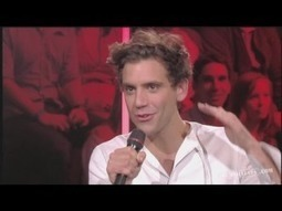 Interview Mika - Part 2 (Sept 2012 - Taratata 432) - http://goo.gl/z6ciQY | Entretemps | Scoop.it