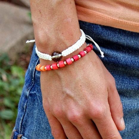 DIY Neon Paper Beads | DIY - jewellery  =  HTM - bijou | Scoop.it