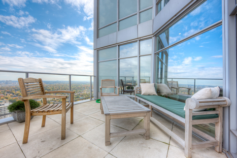 Sky High Terrace Home   2191 Yonge St, Suite 4704, Toronto, ON   Luxury Real Estate Canada   Scoop.it