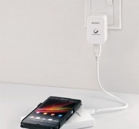 Sony CP-W5 is company's first wireless portable charger | Intresting | Scoop.it