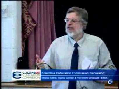 School safety, school climate & dropout prevention - April 10 Columbus Education Commission meeting - YouTube   Safe Schools   Scoop.it