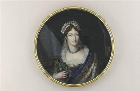 Reading Treasure: A portrait of the duchesse d'Angoulême crowned ... | Property for Sale - Charente Valley | Scoop.it