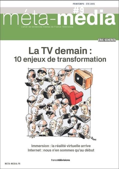 Cahier de Tendances Printemps–Eté : 10 enjeux pour la TV, 10 fiches | La Nouvelle Télévision | Scoop.it
