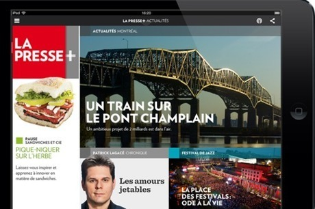 Le journal La Presse bat des records depuis son passage au tout numérique | Journalism: the citizen side | Scoop.it