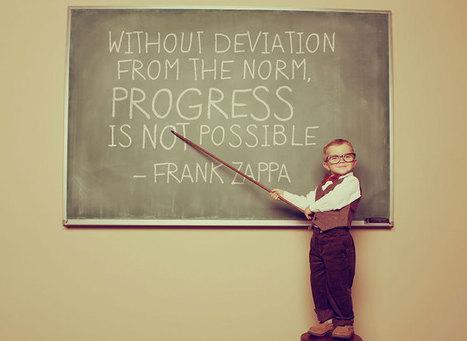 Sin desviarse de la norma, el progreso es imposible | Noticias, Recursos y Contenidos sobre Aprendizaje | Scoop.it