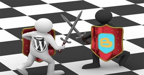 blogger vs wordpress an intense infographic comparison | WI Blog | James's Scoop testing | Scoop.it