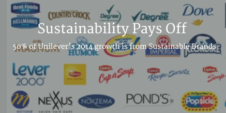 Sustainability Pays Off: Unilever reveals 'Sustainable Brands' growing twice as fast | Bioplastic | Scoop.it