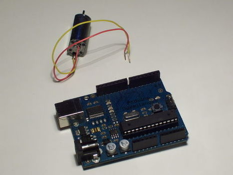 Simple 2-way motor control for the arduino | Raspberry Pi | Scoop.it