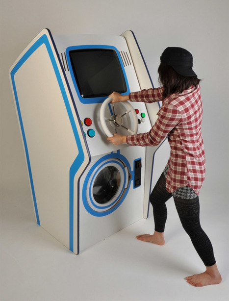 Laundry Arcade Concept Gives Gamers a Good Reason to Wash Their Clothes | All Geeks | Scoop.it