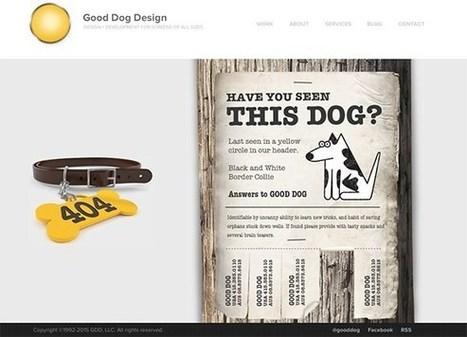 Web Design : 20 exemples très créatifs de pages d'erreur 404 pour vous inspirer | Le journal  e-marketing | Scoop.it