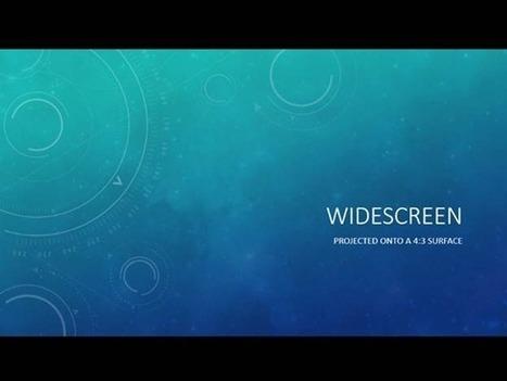 PowerPoint 2013: Widescreen Presentations | effective presentation | Scoop.it