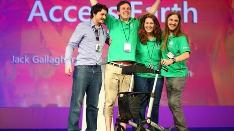 Maynooth students win tech prize for accessibility app - Irish Times | Disability | Scoop.it