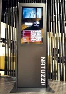 Natuzzi kiosk brings online experience to stores - 2012-04-24 14:39:36 | Furniture Today | Multichannel customer experience | Scoop.it