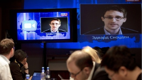 Snowden asks Putin on live TV if he spies on Russians | Technoculture | Scoop.it