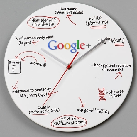 Google+ Geek Clock | Google Plus Mania Blog | Google+ and Social Networking | Scoop.it