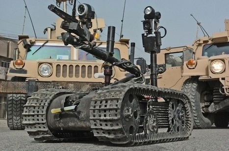 Les soldats s'attachent aux robots | Geeks | Scoop.it
