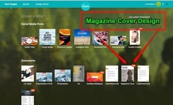Design Magazine Covers With Canva's New Templates | Web tools to support inquiry based learning | Scoop.it