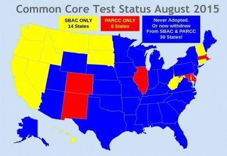 Common Core testing status in the US | College and Career-Ready Standards for School Leaders | Scoop.it