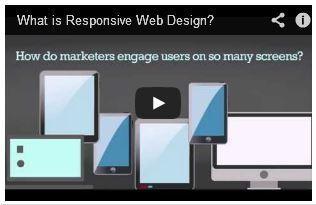 Responsive Design in 60 Seconds [VIDEOGRAPHIC] - PRWeb | Design trends | Scoop.it