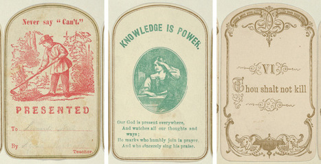 "Paper ""Likes"": Reward of Merit Cards from the Jefferson R. Burdick Collection 