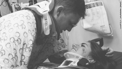 Couple's post-crash Facebook photo warms hearts - CNN.com | FREE HUgZ - sharing of inspiration and miracles | Scoop.it