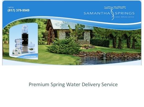 Spring Water Texas | Custom Label Bottle Water | Scoop.it