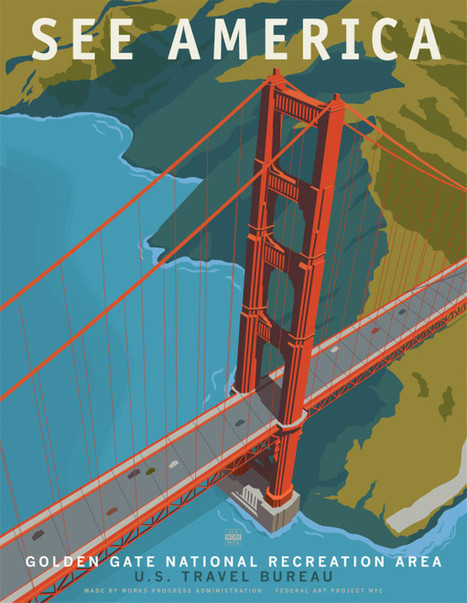 See America: Neo Vintage Travel Posters by Steven Thomas | The Art World | Scoop.it