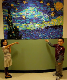 WES Kindergarten Art: Artist: VINCENT VAN GOGH | Learning about Technology and Education | Scoop.it