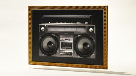 Why buy a boombox when you can own a painting of a boombox that's actually a boombox? @investorseurope | Culture, Humour, the Brave, the Foolhardy and the Damned | Scoop.it