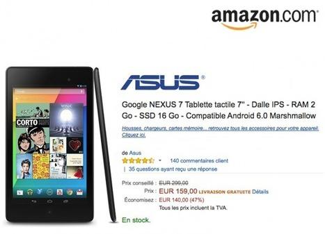Bon Plan : Google NEXUS 7 à 159€ soit – 47% | Les bons Plans de tablettes Android | Scoop.it